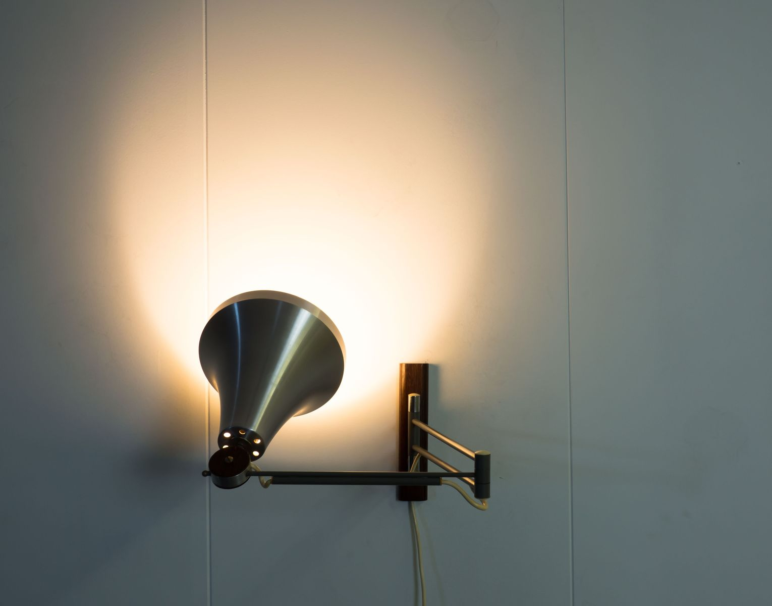 Philips Stylo Wall Lights : Vintage Dutch Adjustable Wall Light from Philips for sale at Pamono