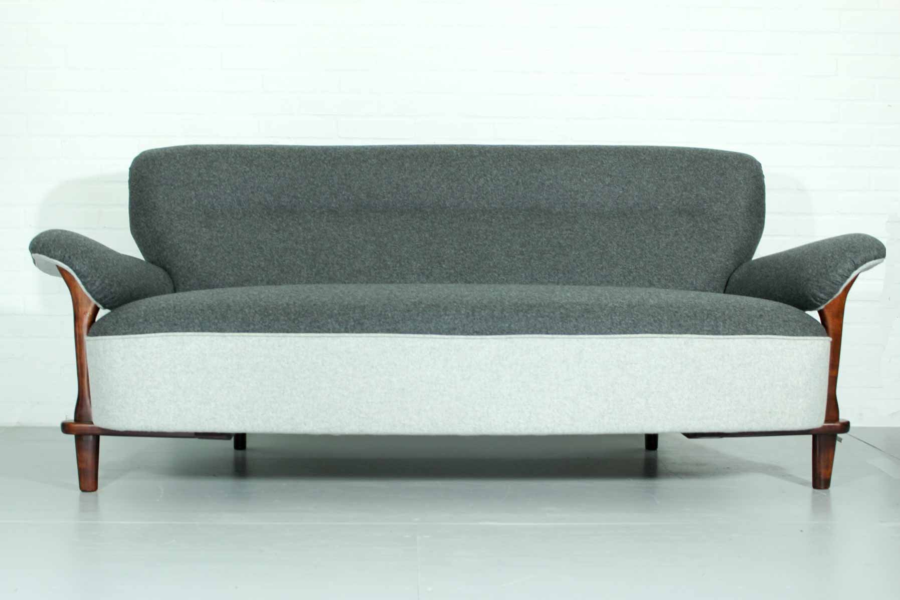 Mid Century Dutch Sofa By Theo Ruth For Artifort 1950s For Sale At Pamono