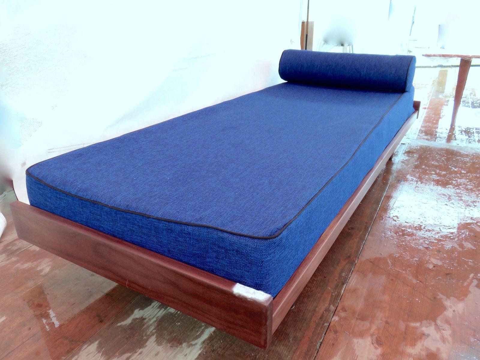 d nisches teak schlafsofa 1960er bei pamono kaufen. Black Bedroom Furniture Sets. Home Design Ideas