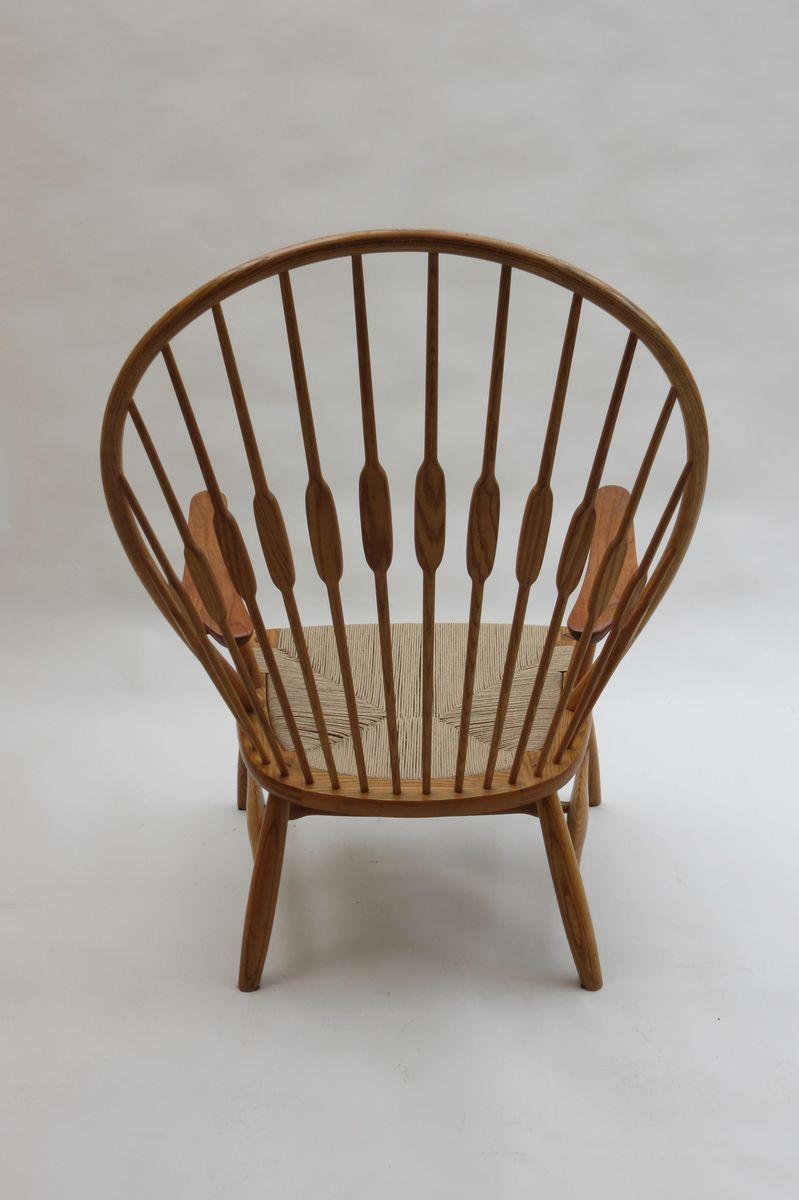 peacock stuhl von hans j wegner f r johannes hansen. Black Bedroom Furniture Sets. Home Design Ideas