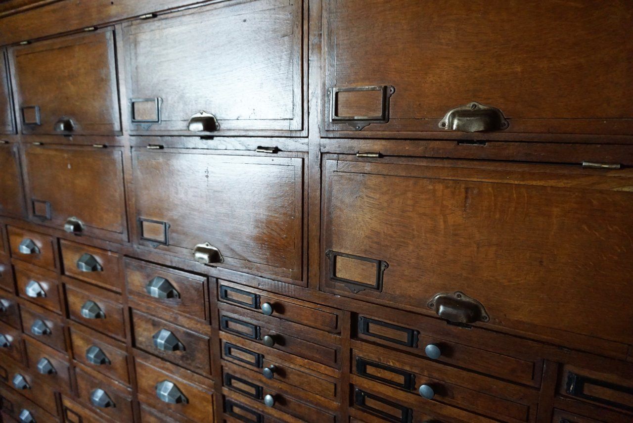 French oak jeweler 39 s cabinet 1930s for sale at pamono for 1930s kitchen cabinets for sale