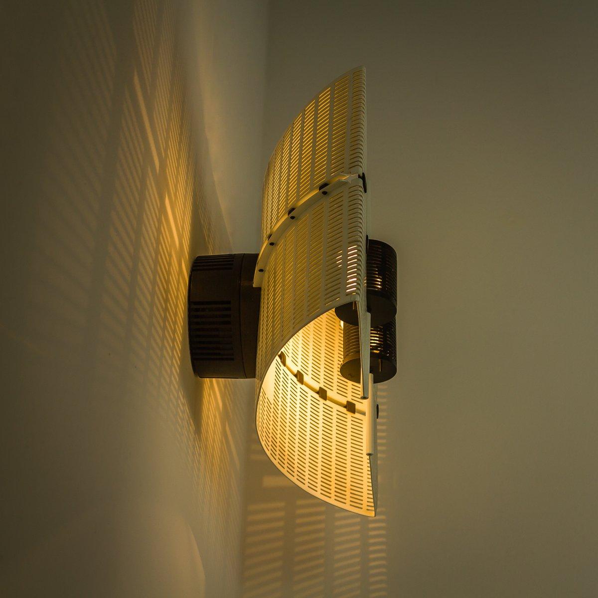 fidia wandlampe von mario botta f r artemide 1987 bei. Black Bedroom Furniture Sets. Home Design Ideas