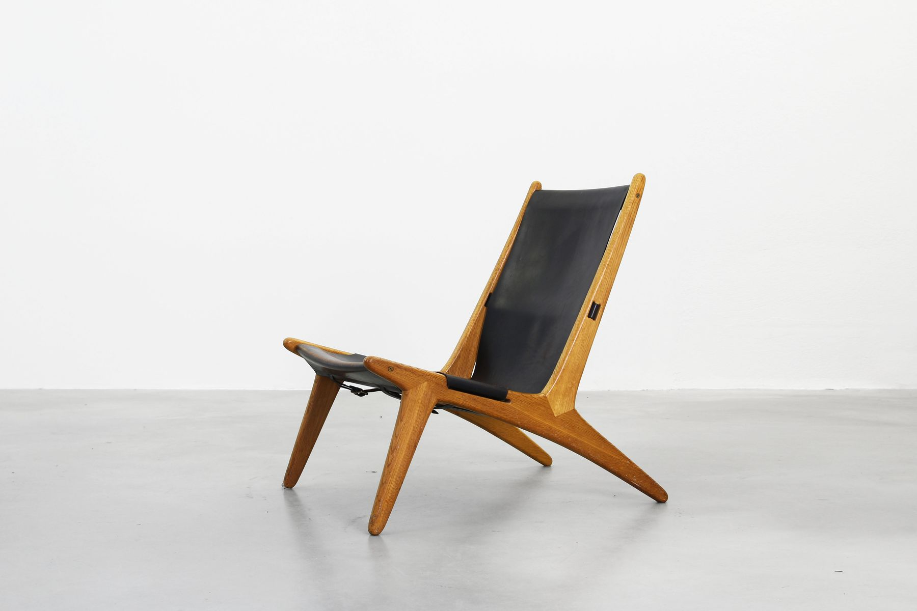 Lounge Hunting Chairs by Uno & –sten Kristiansson for Vittsjömöbel
