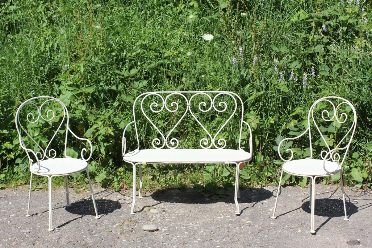 German Childrenu0027s Garden Furniture, Set Of 3 For Sale At Pamono