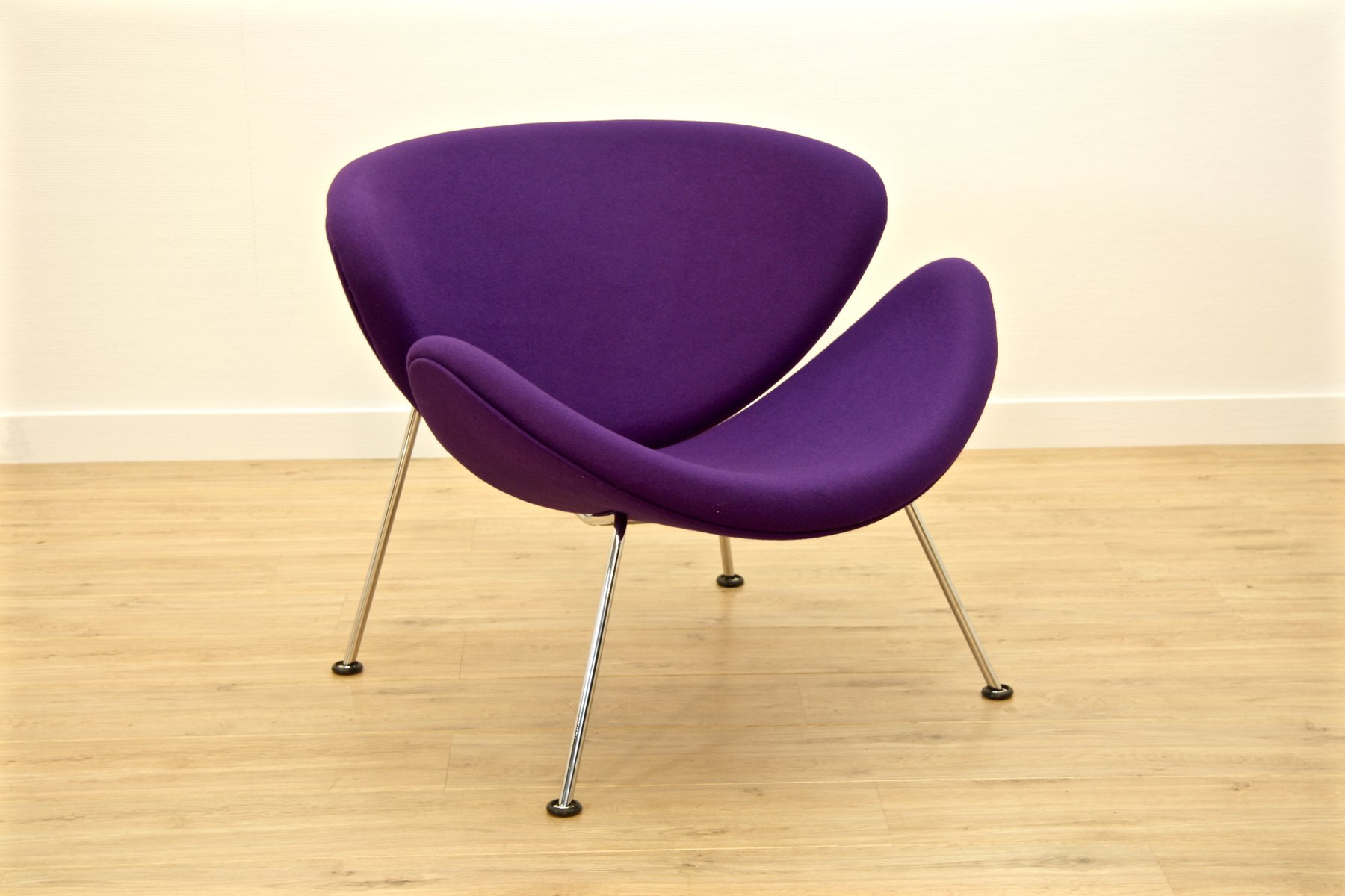 Purple F 437 Orange Slice Chair By Pierre Paulin For Artifort For Sale At  Pamono