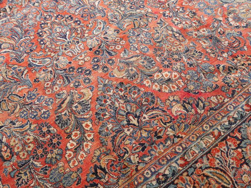 antiker gro er iranischer teppich 1920er bei pamono kaufen. Black Bedroom Furniture Sets. Home Design Ideas