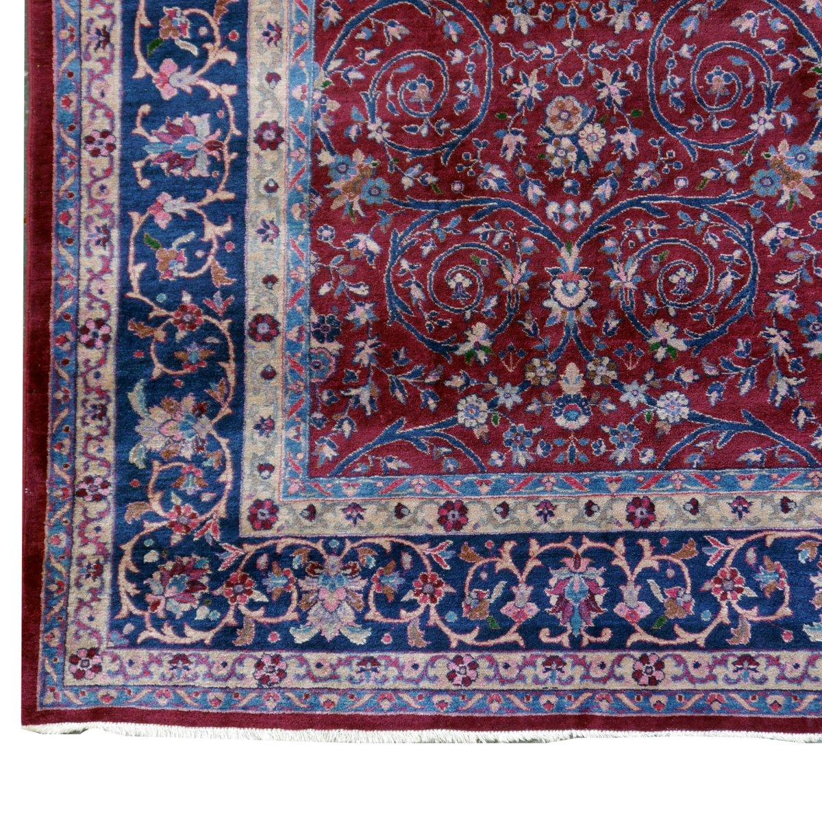 Antiker Indischer Agra Teppich, 1920er bei Pamono kaufen