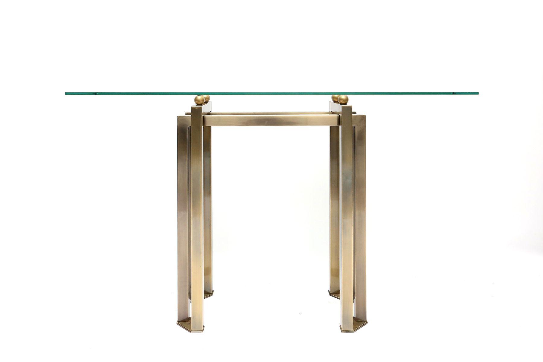 table console en verre maison design. Black Bedroom Furniture Sets. Home Design Ideas