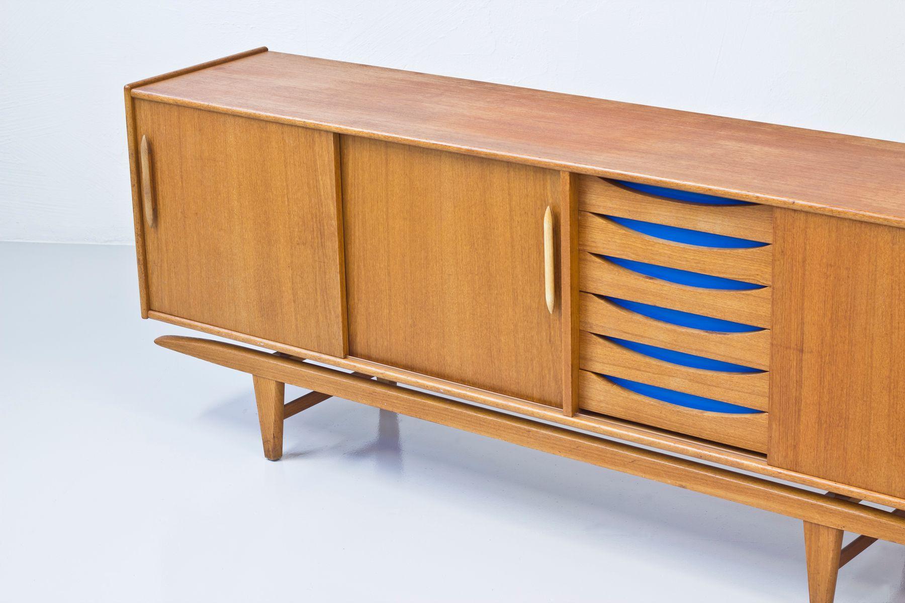 schwedisches mid century sideboard von ajfa bei pamono kaufen. Black Bedroom Furniture Sets. Home Design Ideas