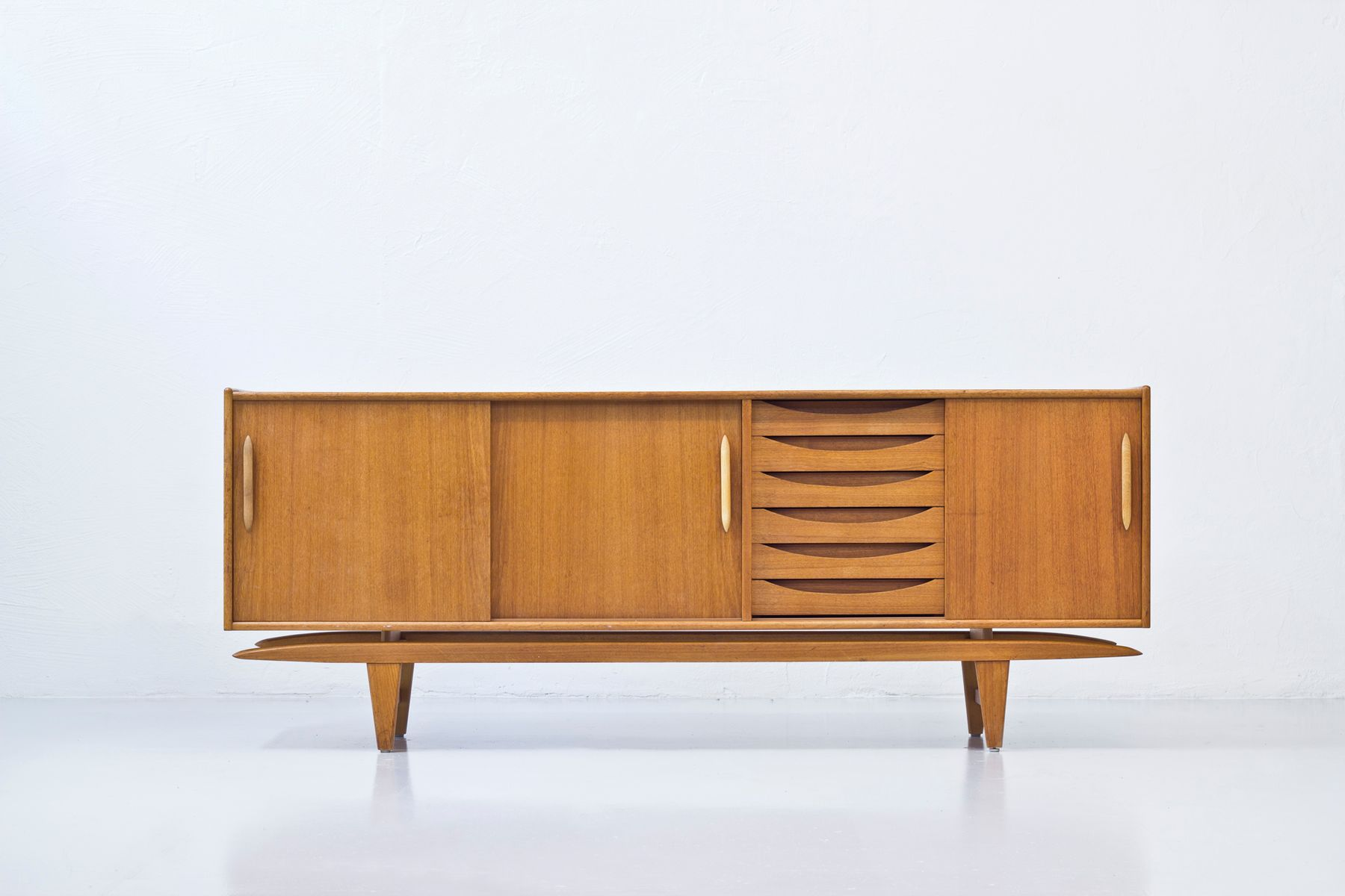 mid century swedish sideboard from ajfa for sale at pamono. Black Bedroom Furniture Sets. Home Design Ideas