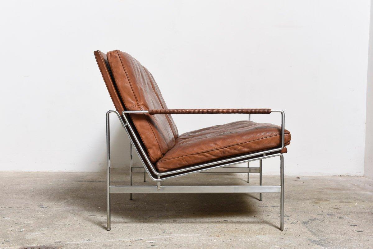 canap deux places fk 6720 par fabricius kastholm pour. Black Bedroom Furniture Sets. Home Design Ideas