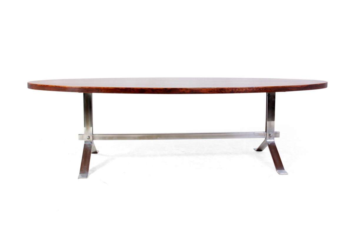mid century french modern coffee table 1960s for sale at pamono. Black Bedroom Furniture Sets. Home Design Ideas