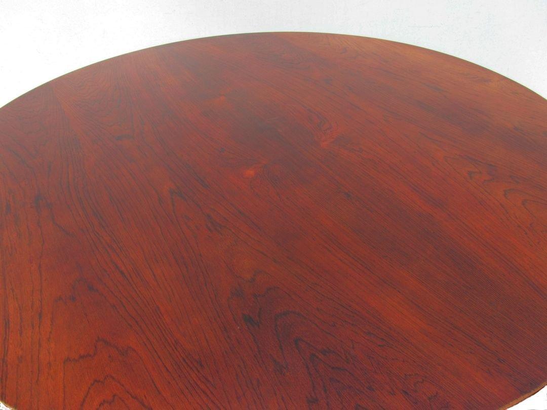 Table basse en palissandre par pierre paulin pour artifort - Table basse pierre paulin ...