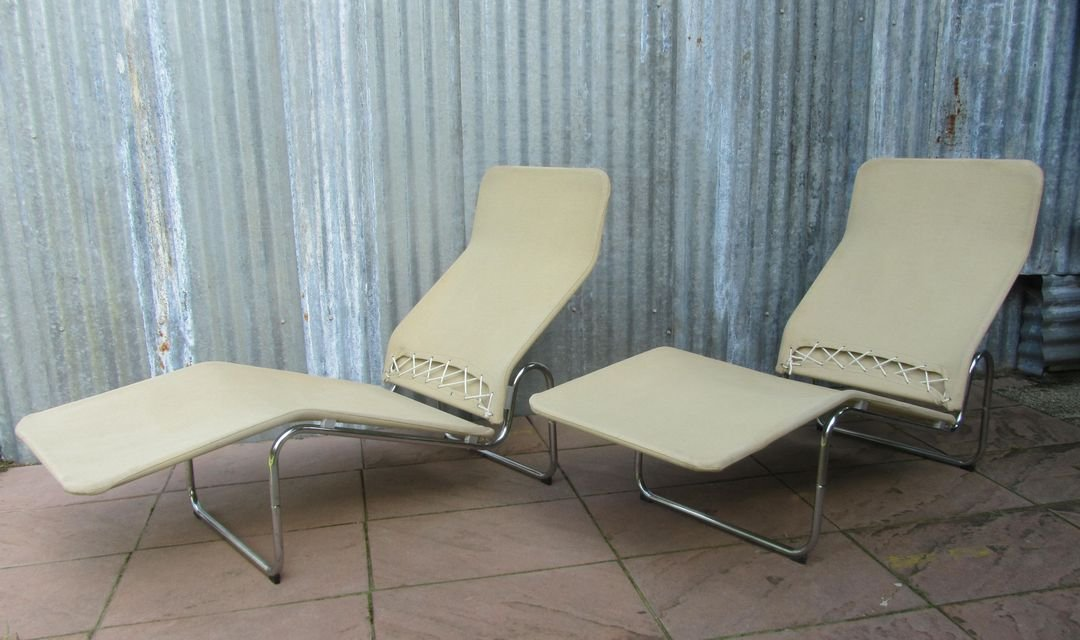 Swedish Kroken Lounge Chairs by Christer Blomquist for Ikea 1970s Set of 2