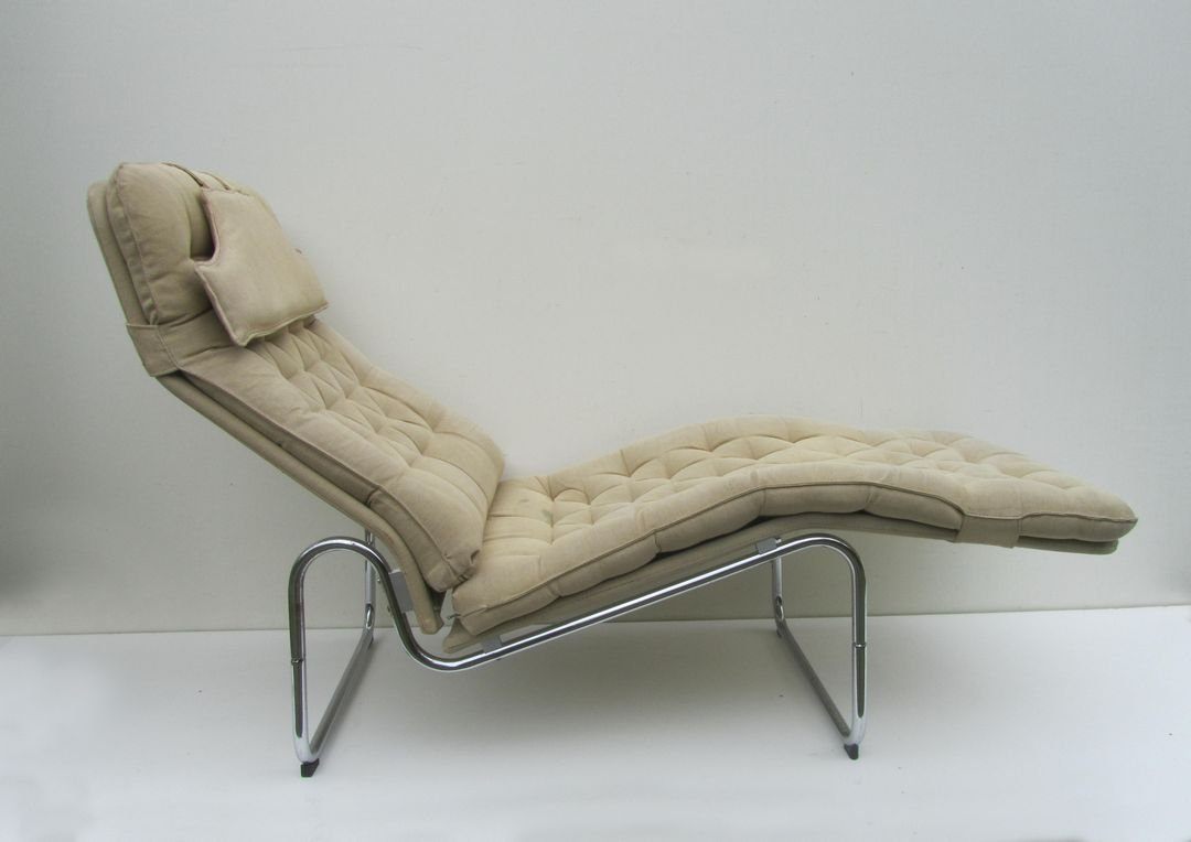 Chaiselongue ikea  Swedish Kroken Lounge Chairs by Christer Blomquist for Ikea, 1970s ...