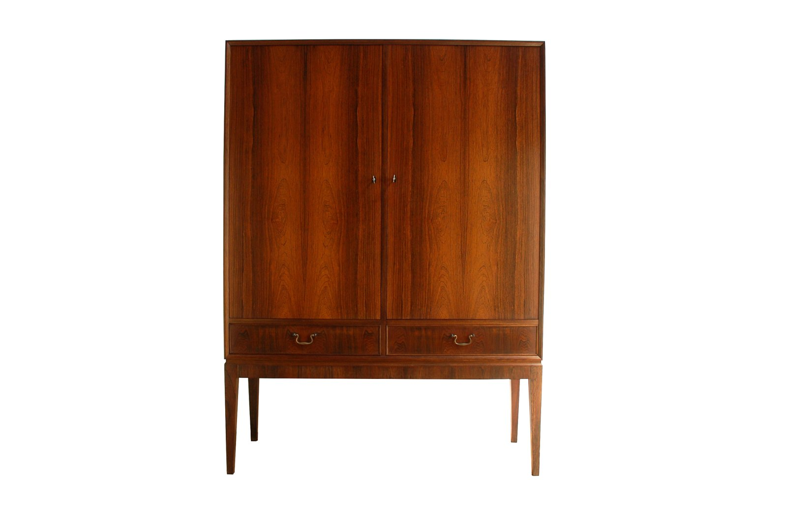d nisches mid century palisander highboard von o bank larsen bei pamono kaufen. Black Bedroom Furniture Sets. Home Design Ideas