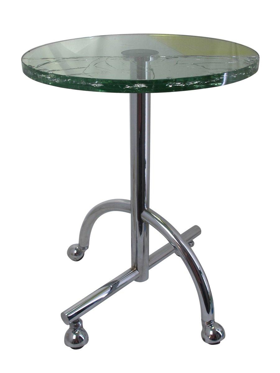 Table d 39 appoint roulante sally par shiro kuramata pour for Table design japon