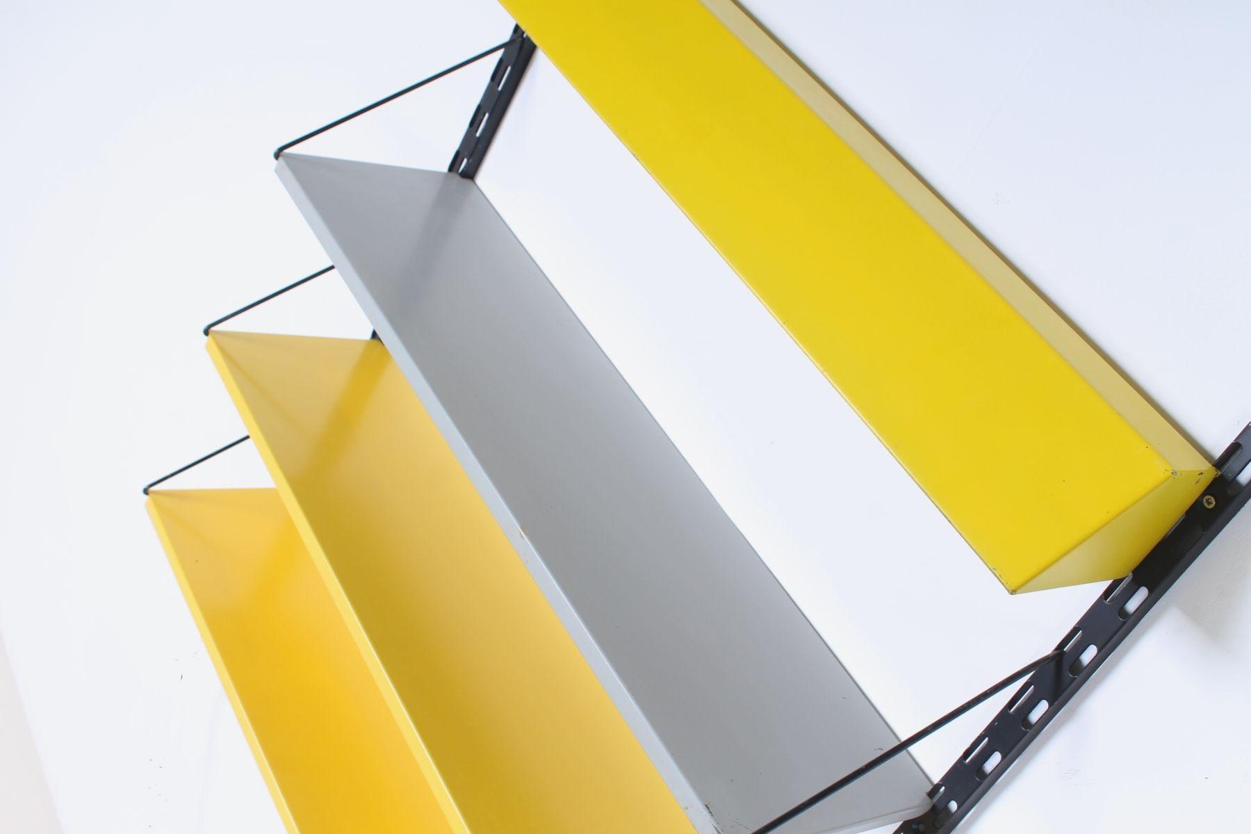 Modular Wall Shelf with Light by Tjerk Reijenga for