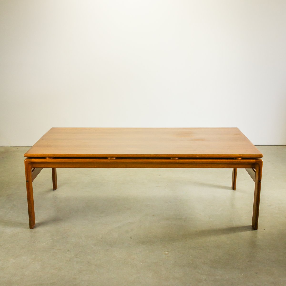 danish teak coffee table from komfort 1970s for sale at