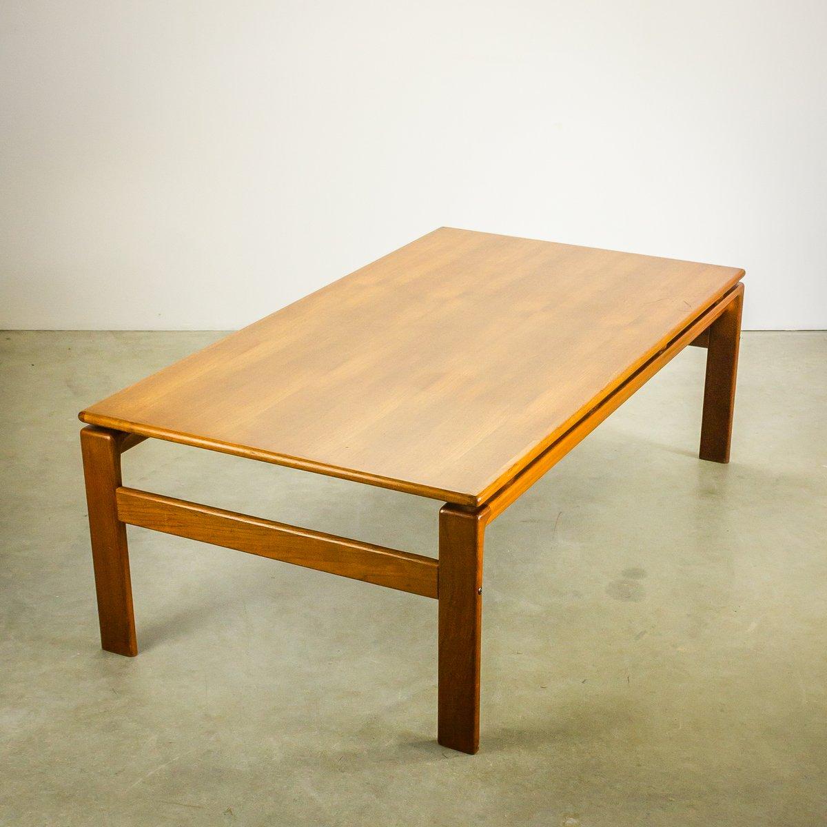 Attractive Danish Teak Coffee Table From Komfort, 1970s