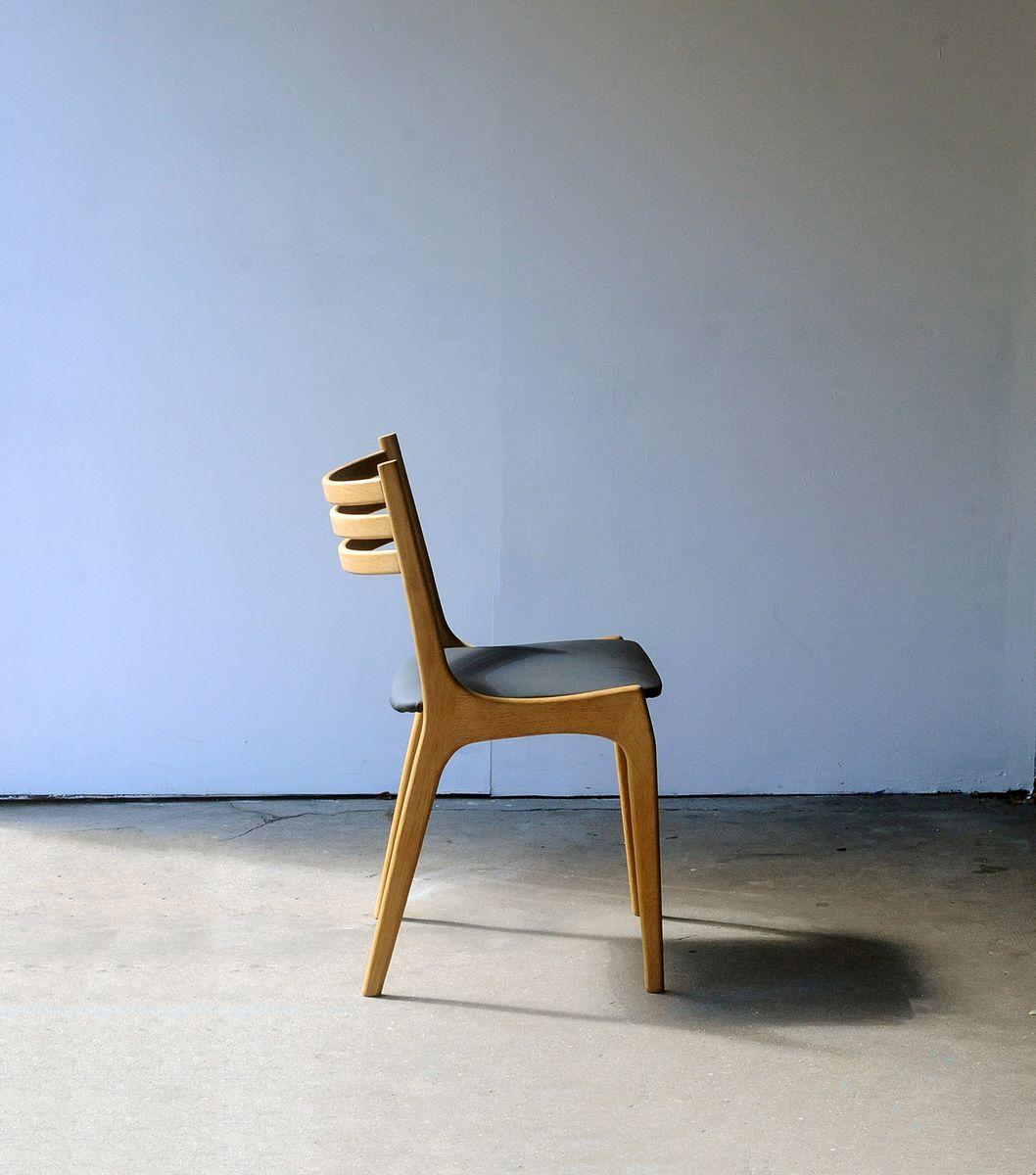 skandinavische st hle von ks m belfabrik 1960er 4er set. Black Bedroom Furniture Sets. Home Design Ideas