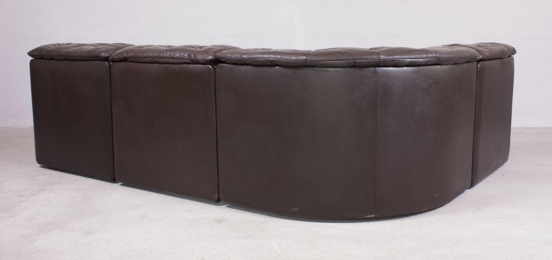 schweizer ds11 sofa und kissen von de sede 1970er 4er set bei pamono kaufen. Black Bedroom Furniture Sets. Home Design Ideas