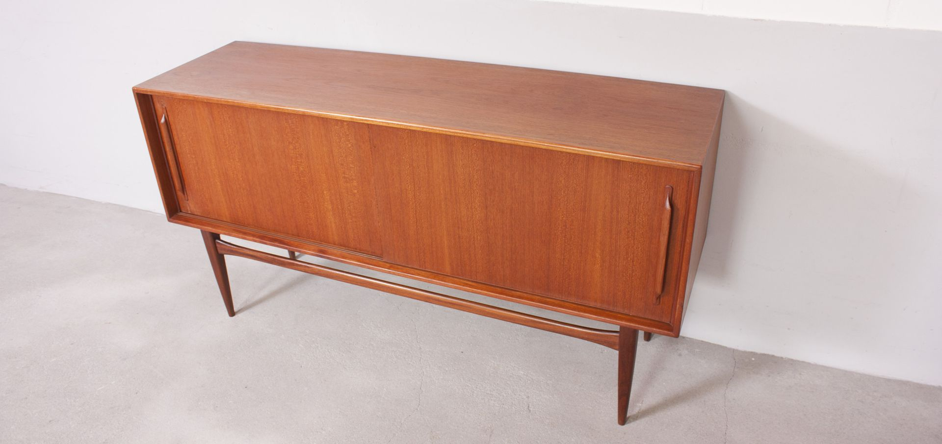 german vintage teak sideboard from rt m bel 1960s for. Black Bedroom Furniture Sets. Home Design Ideas