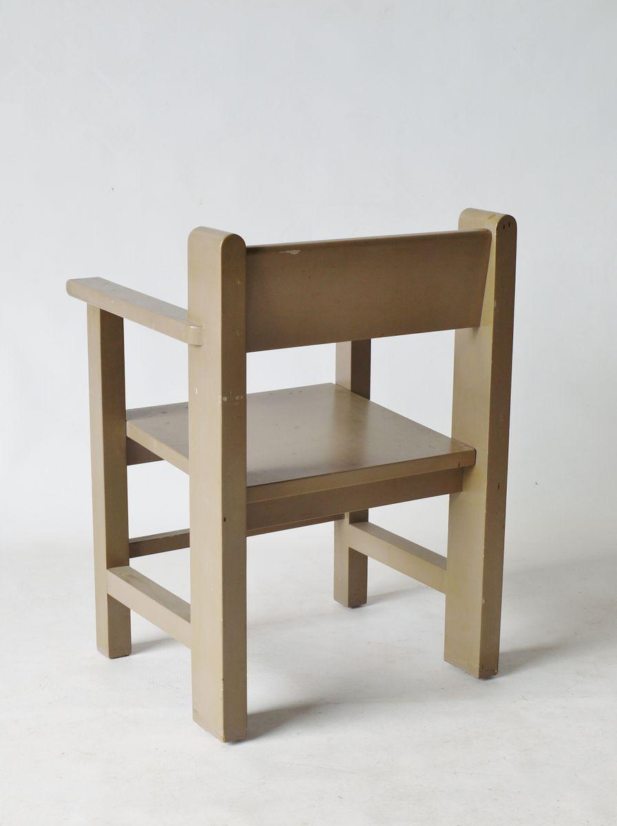 Modernist Bossche School Chair By Gerard Wijnen For Sale At Pamono
