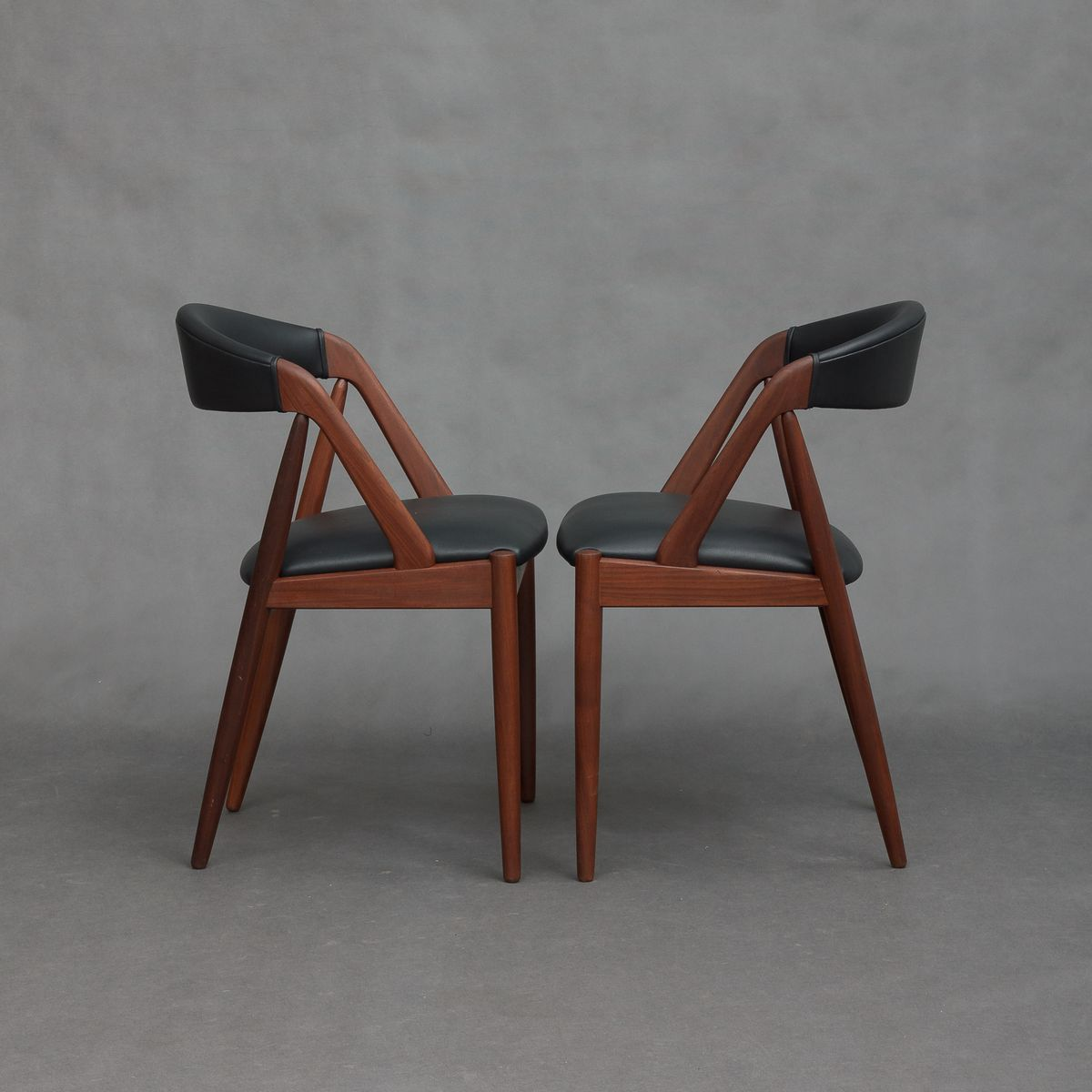 Model 31 Teak Chairs By Kai Kristiansen 1950s Set Of 2 For Sale At Pamono