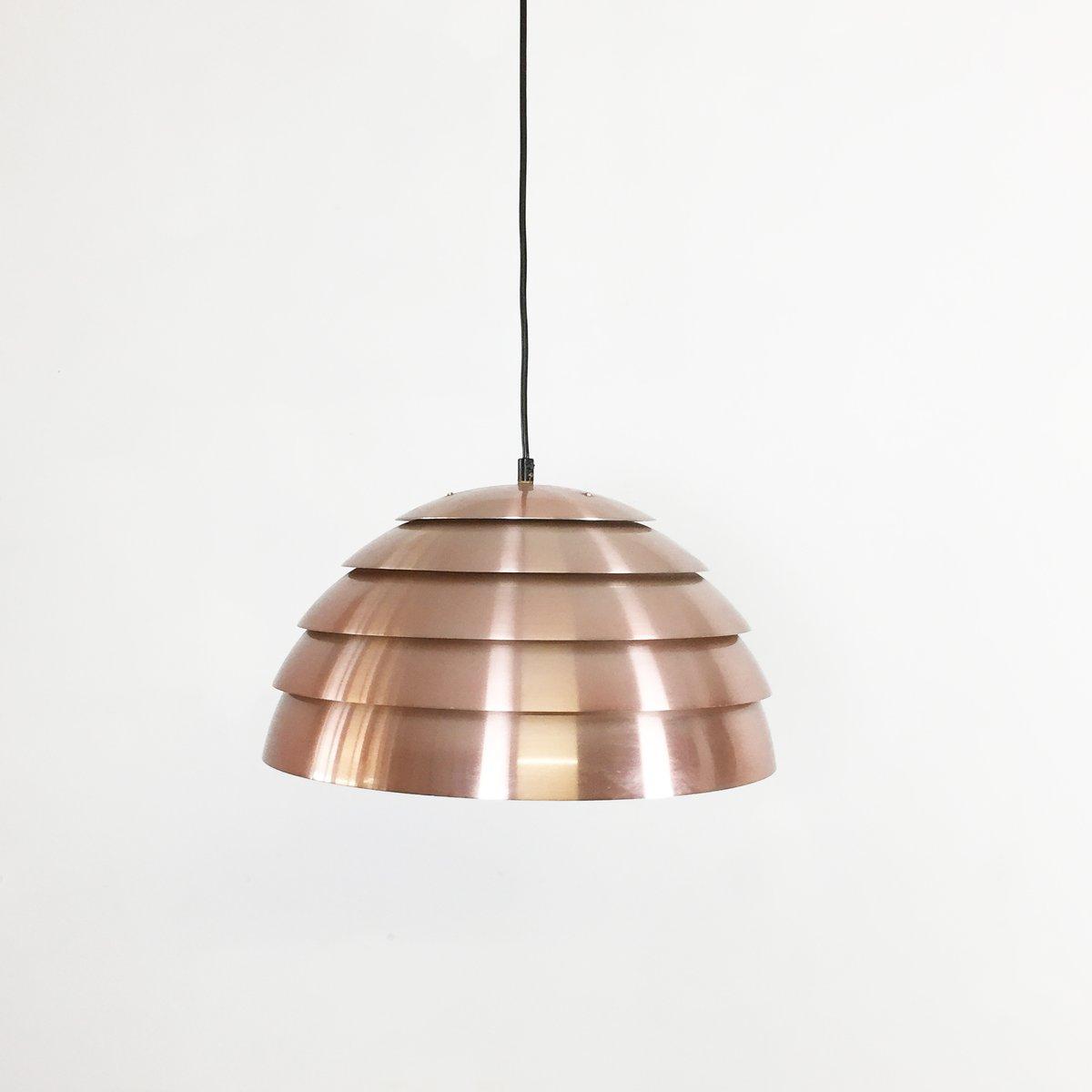 swedish copper pendant light by hans agne jakobsson for. Black Bedroom Furniture Sets. Home Design Ideas