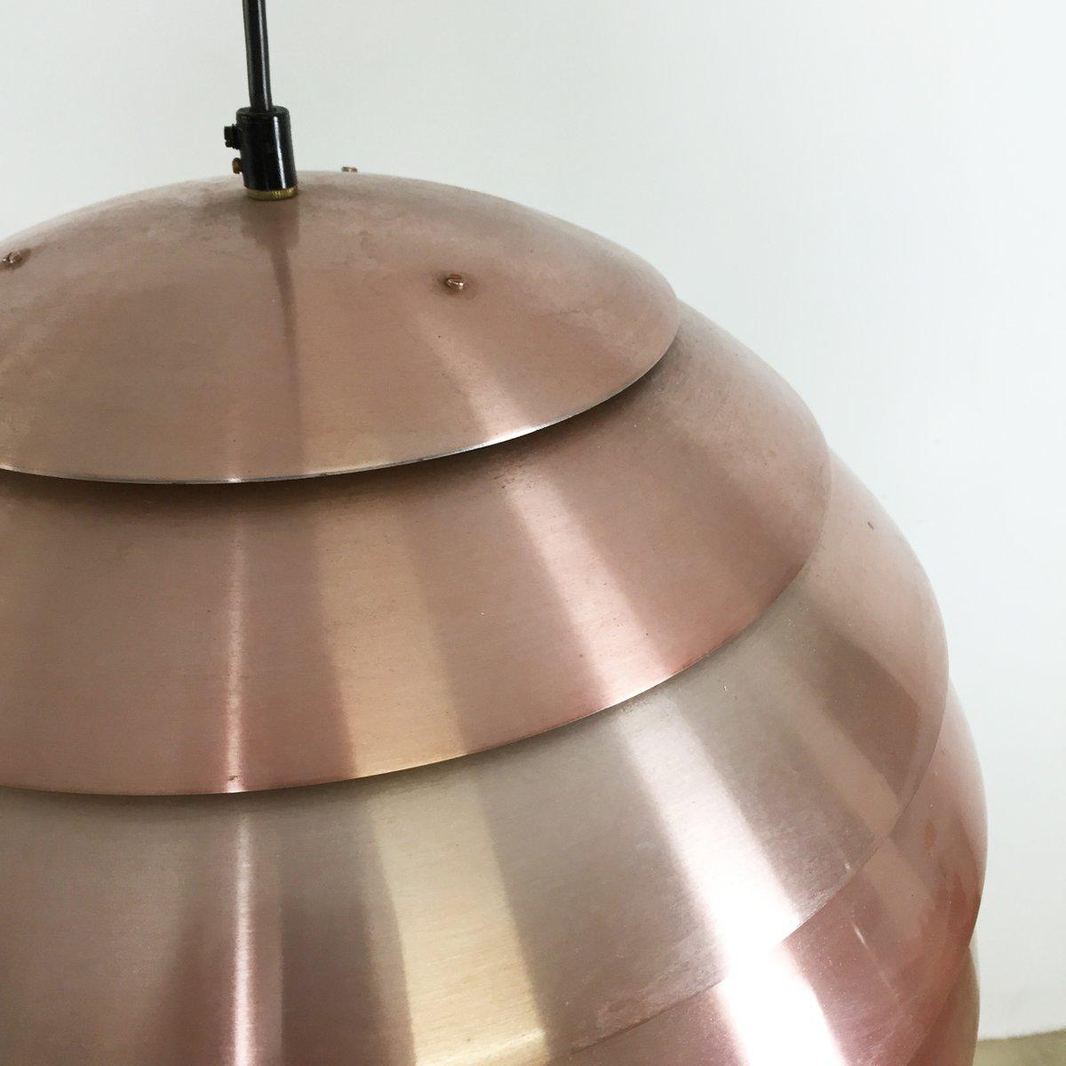 swedish copper pendant light by hans agne jakobsson for hans agne jakobsson ab markaryd 1960s