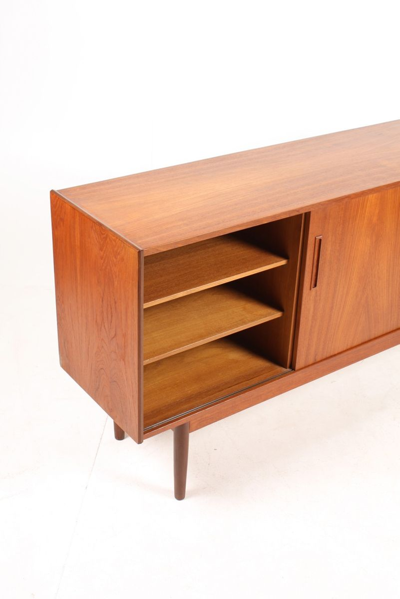 Mid Century Danish Teak Credenza 1960s For Sale At Pamono