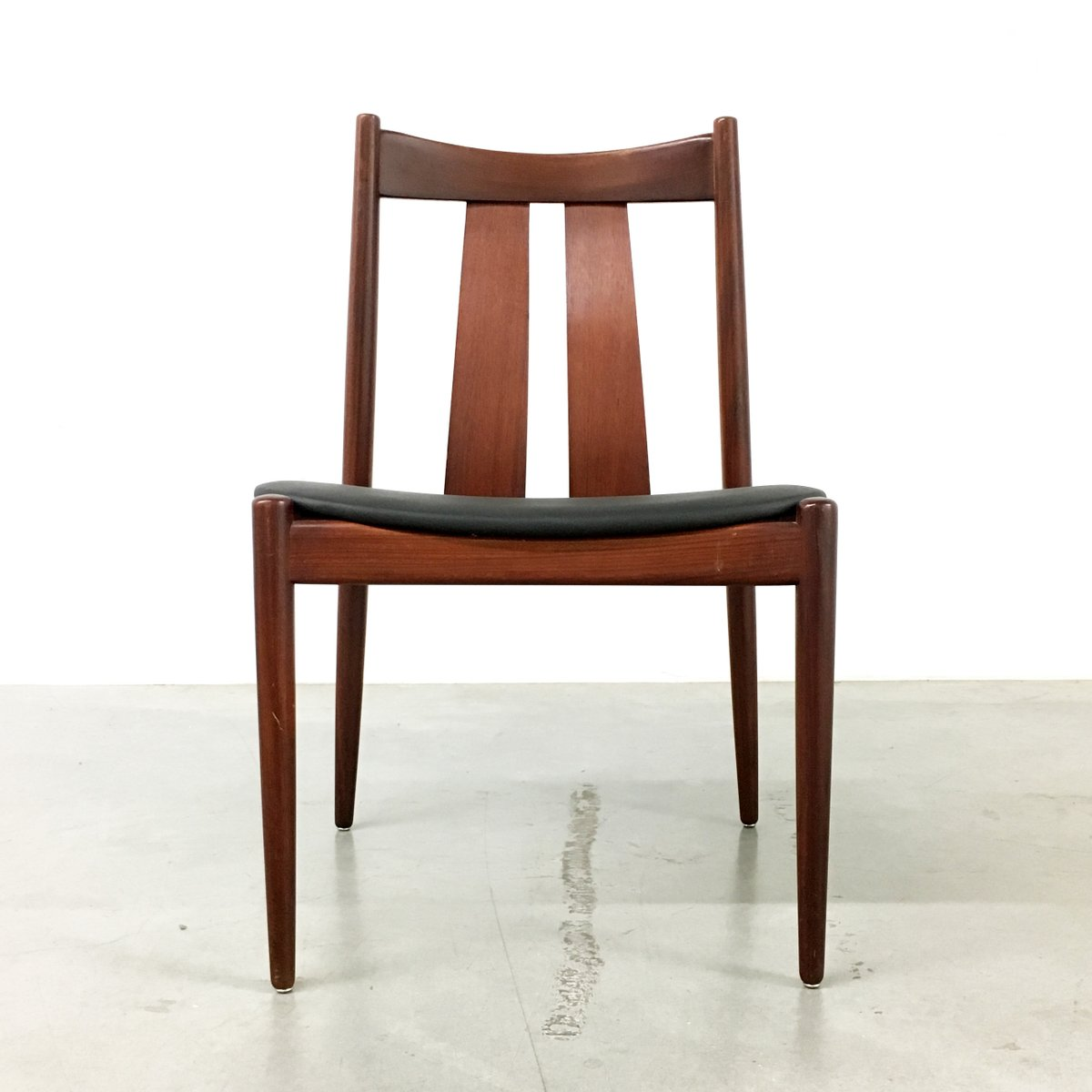 Danish dining chairs from bramin s set of for sale