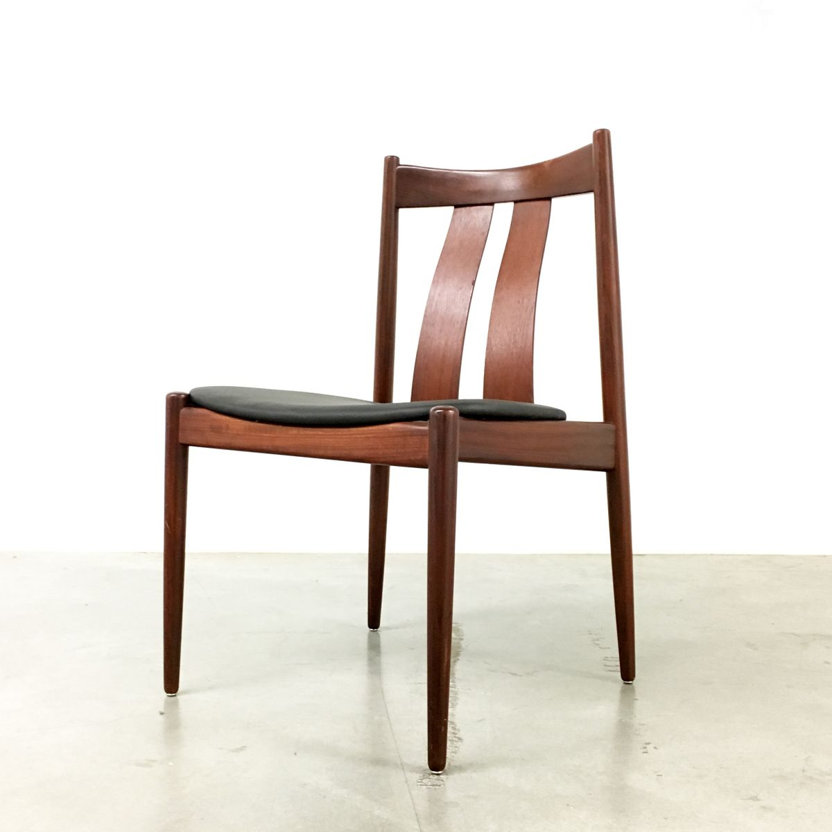 Danish Dining Chair danish dining chairs from bramin, 1960s, set of 4 for sale at pamono