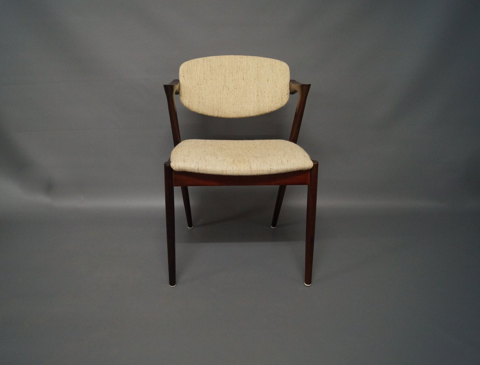 Model 42 rosewood dining chairs by kai kristiansen 1960s set of 6 for sale at pamono - Kai kristiansen chairs ...