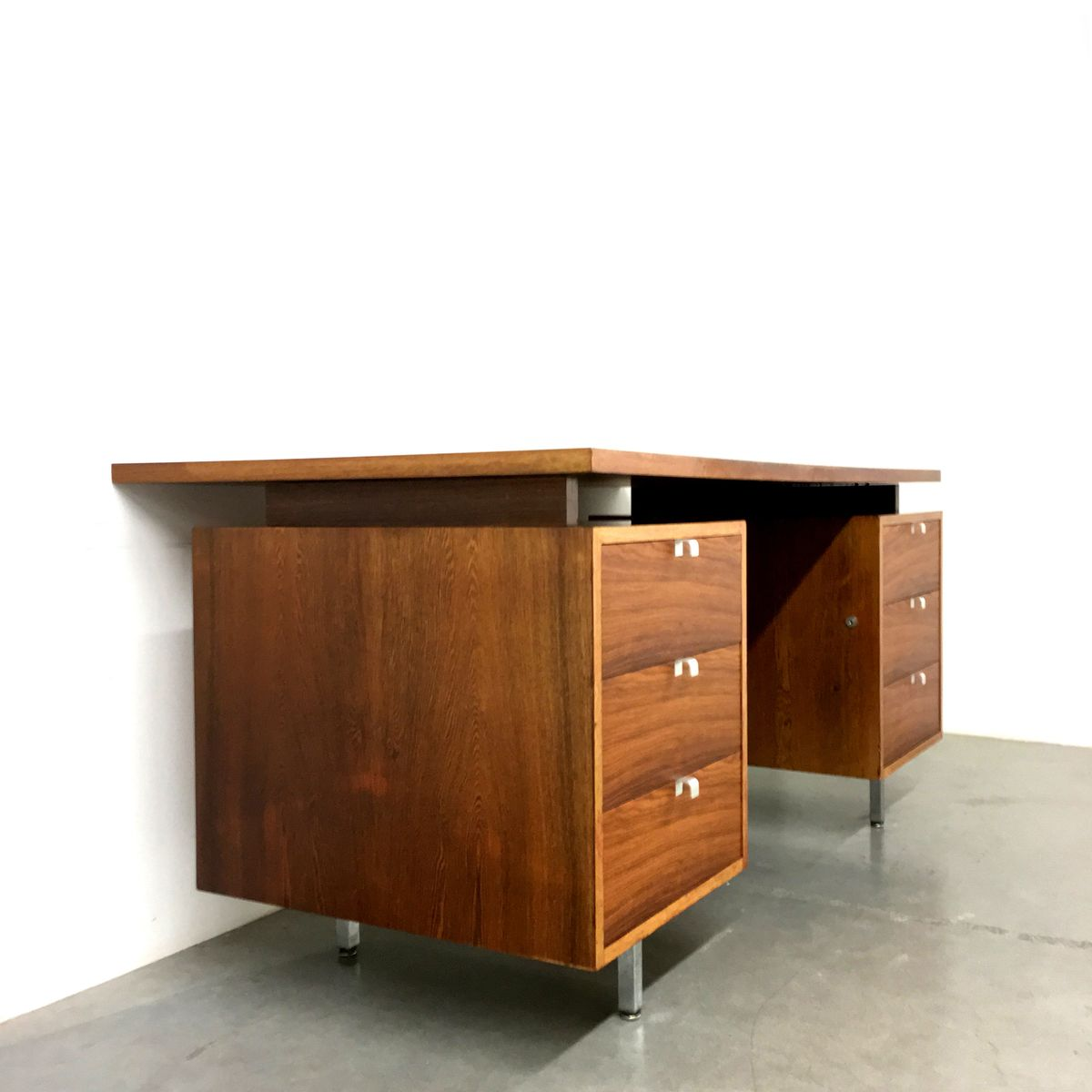 American Executive Desk By George Nelson For Herman Miller