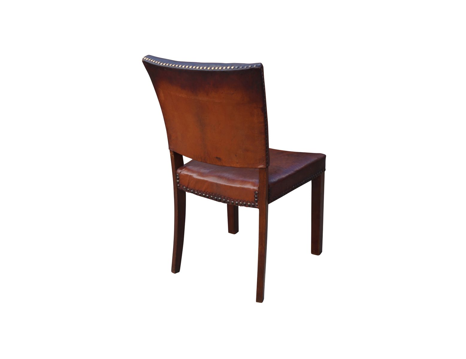 Danish dining room chair by jacob kj r 1940s set of 6 for 6 dining room chairs