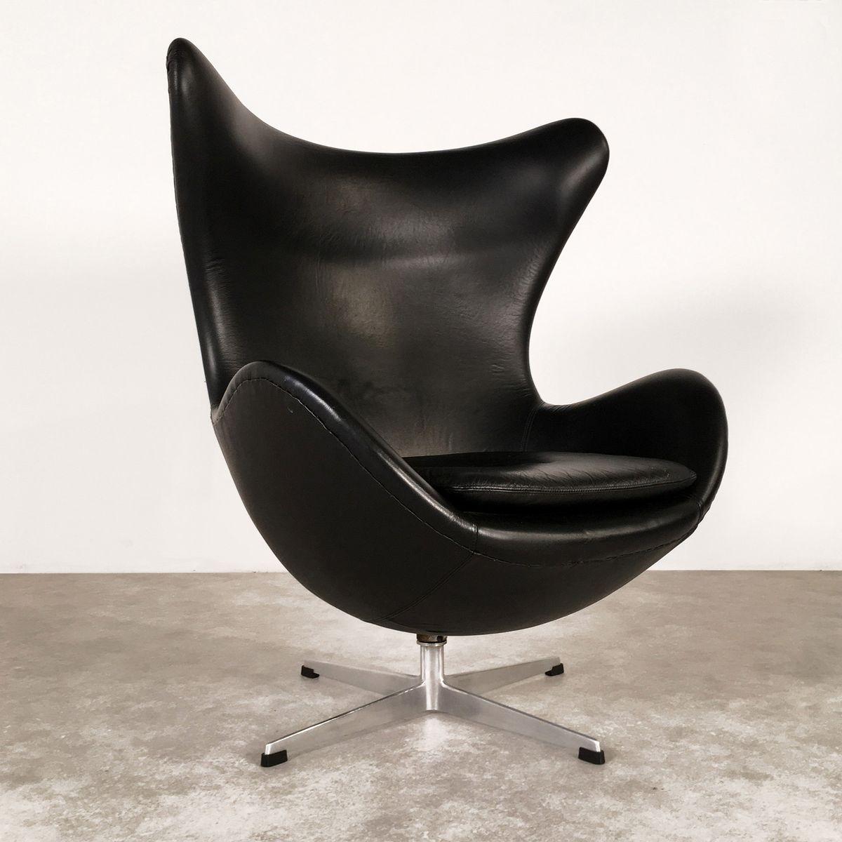 danish egg chair by arne jacobsen for fritz hansen 1963 for sale at pamono. Black Bedroom Furniture Sets. Home Design Ideas