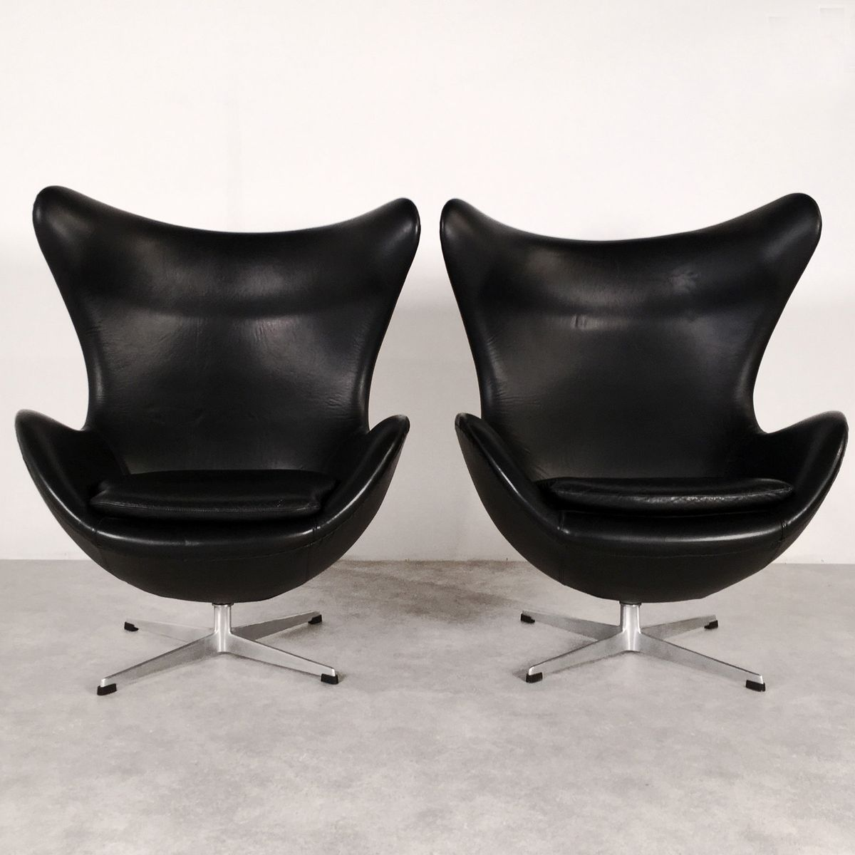 d nischer egg chair von arne jacobsen f r fritz hansen 1963 bei pamono kaufen. Black Bedroom Furniture Sets. Home Design Ideas