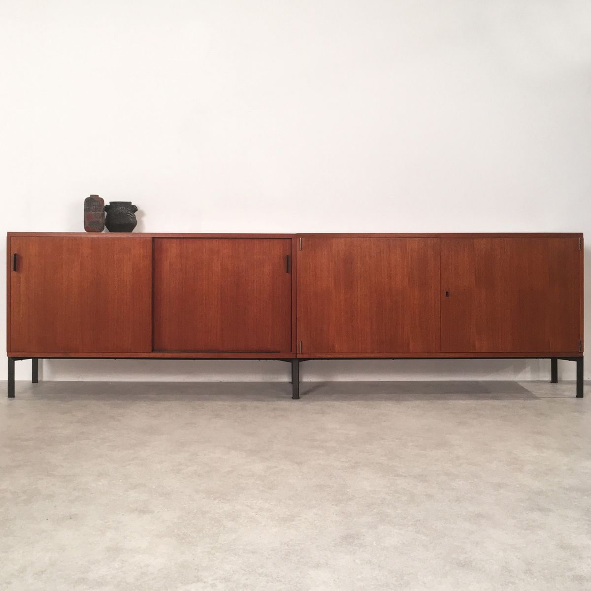 German sideboard by herbert hirche for holz pfel 1955 for for Sideboard 70 cm