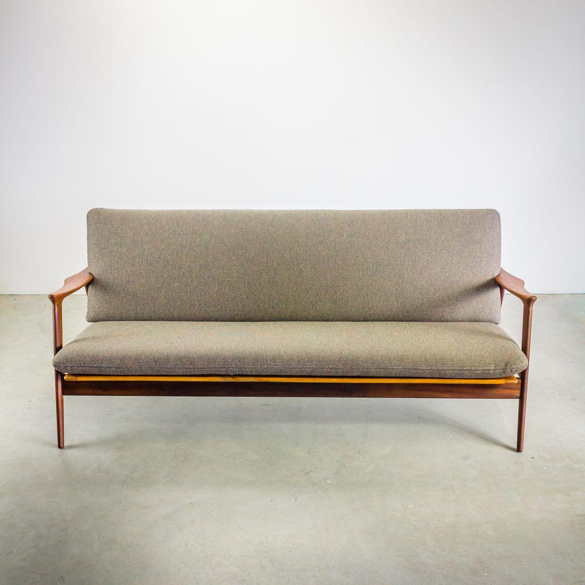 skandinavisches drei sitzer sofa 1960er bei pamono kaufen. Black Bedroom Furniture Sets. Home Design Ideas