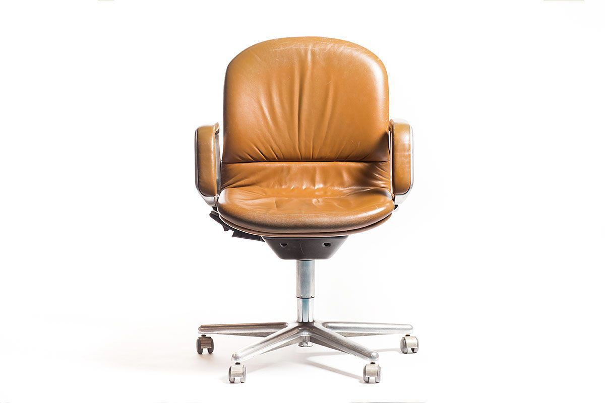 vintage leather desk chair hostgarcia