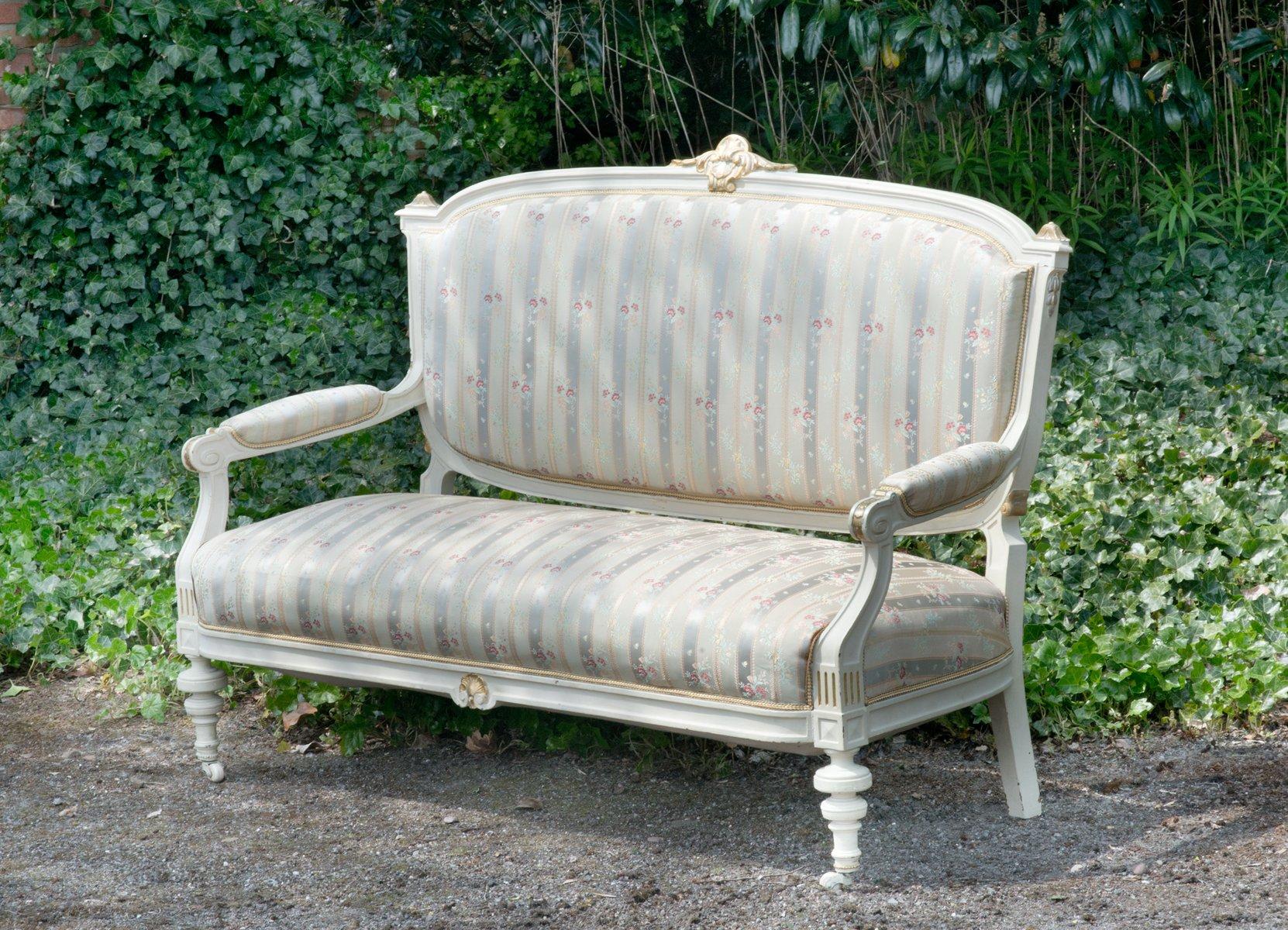 sofa mit vorderen rollen bei pamono kaufen. Black Bedroom Furniture Sets. Home Design Ideas
