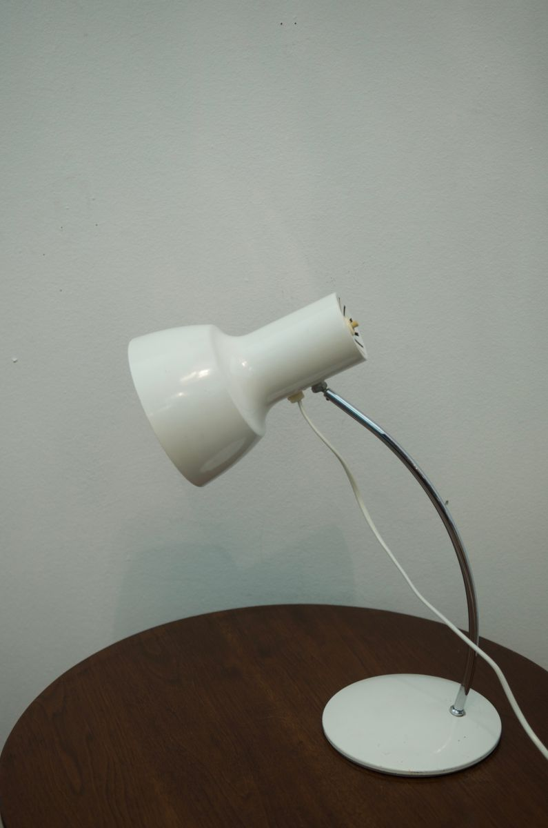 White Table Lamp By Josef Hurka For Napako For Sale At Pamono