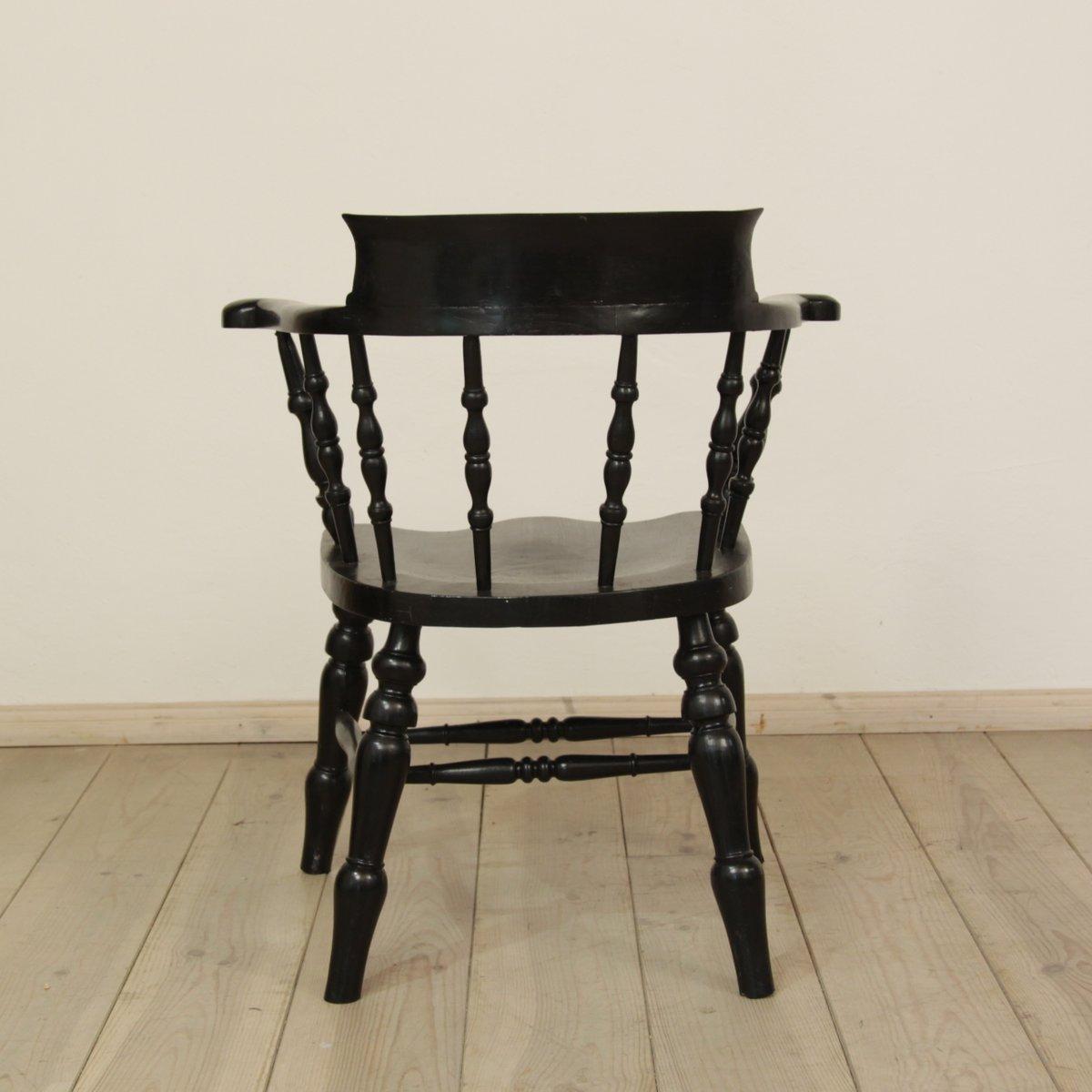 englischer kapit n stuhl 1880er bei pamono kaufen. Black Bedroom Furniture Sets. Home Design Ideas