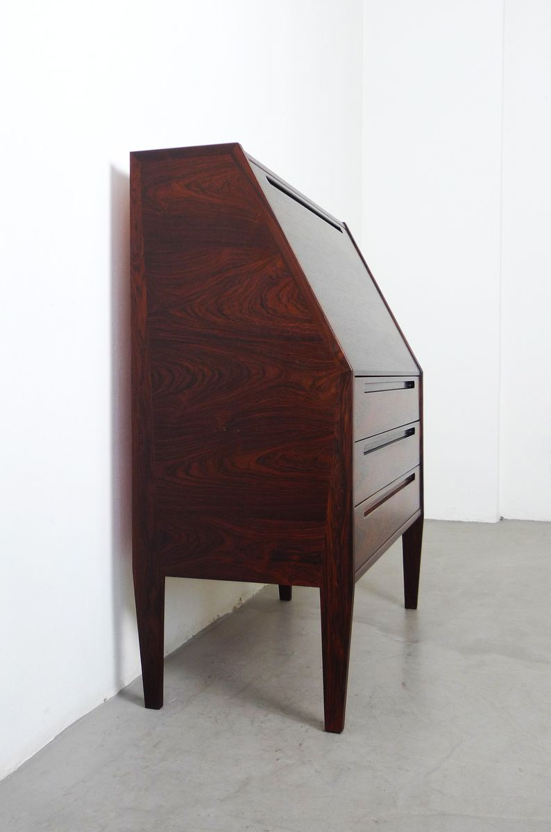 danish rosewood secretaire by nils jonsson for torring. Black Bedroom Furniture Sets. Home Design Ideas