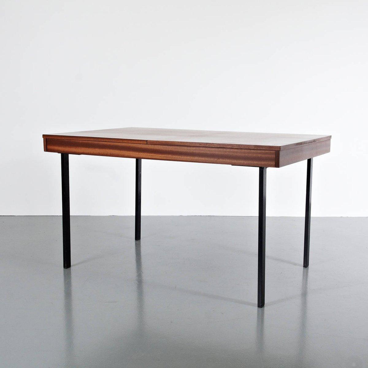 Table de salle manger ajustable et extensible par pierre for Salle a manger 1950