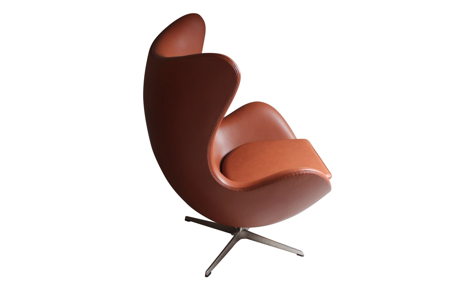 danish the egg chair by arne jacobsen for fritz hansen 1980s for sale at pamono. Black Bedroom Furniture Sets. Home Design Ideas