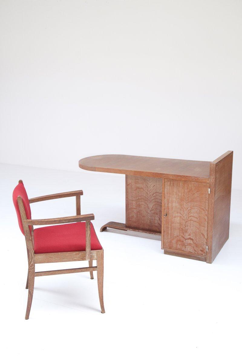 set de bureau de de coene fr res belgique 1930s en vente sur pamono. Black Bedroom Furniture Sets. Home Design Ideas