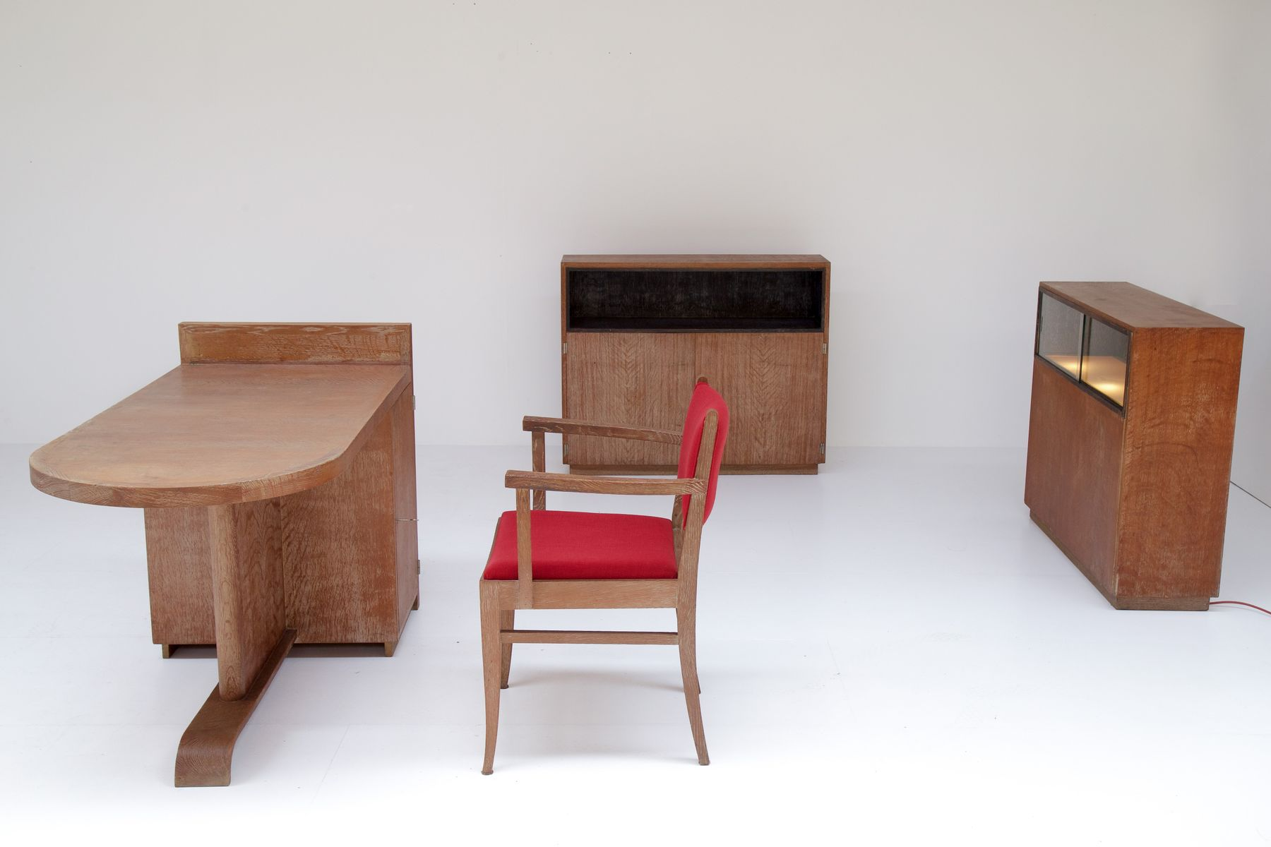set de bureau de de coene fr res belgique 1930s en vente sur pamono. Black Bedroom Furniture Sets. Home Design Ideas